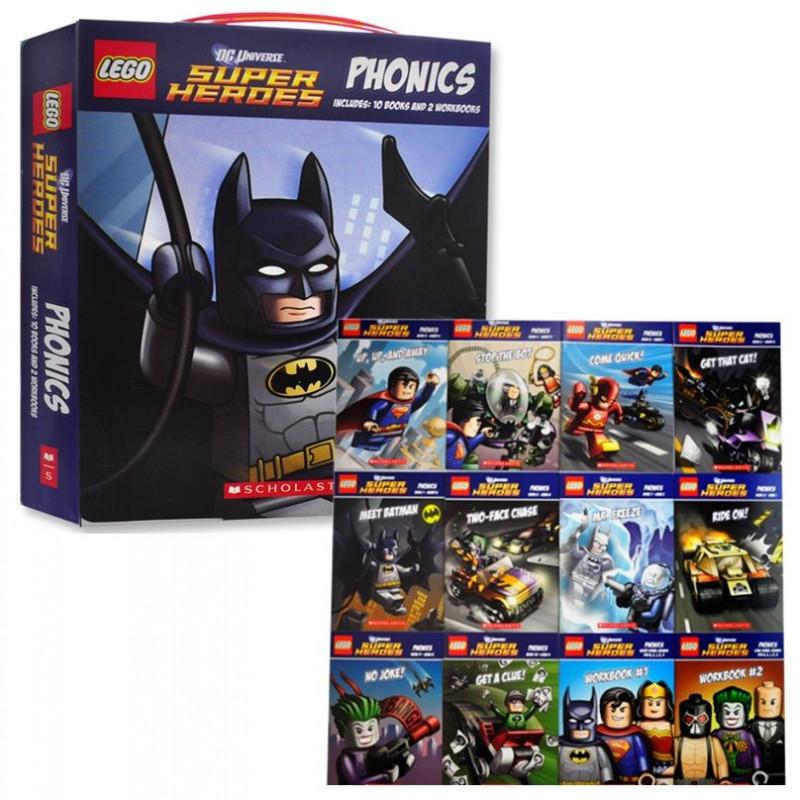 【樂高DC超級英雄】自然發音套書 LEGO DC Super