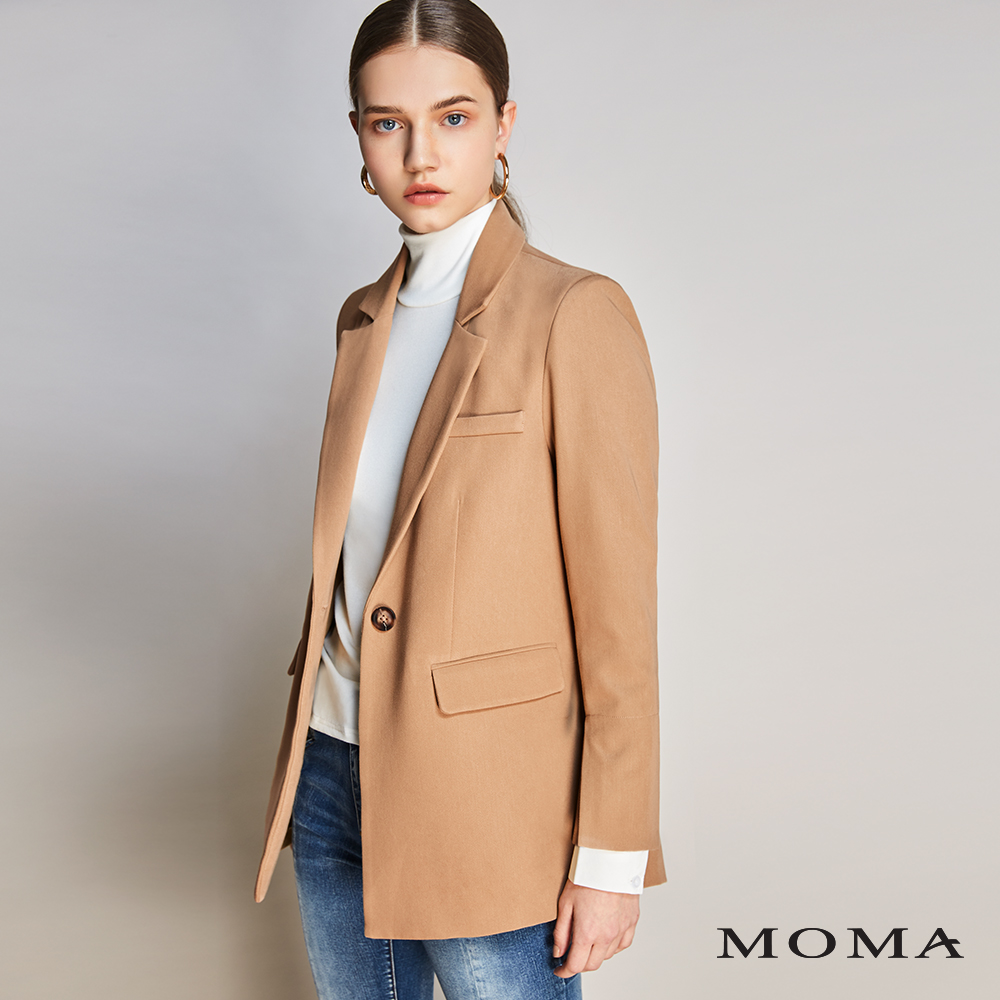 MOMA(01J036)襯衫袖西裝外套-剩餘38號