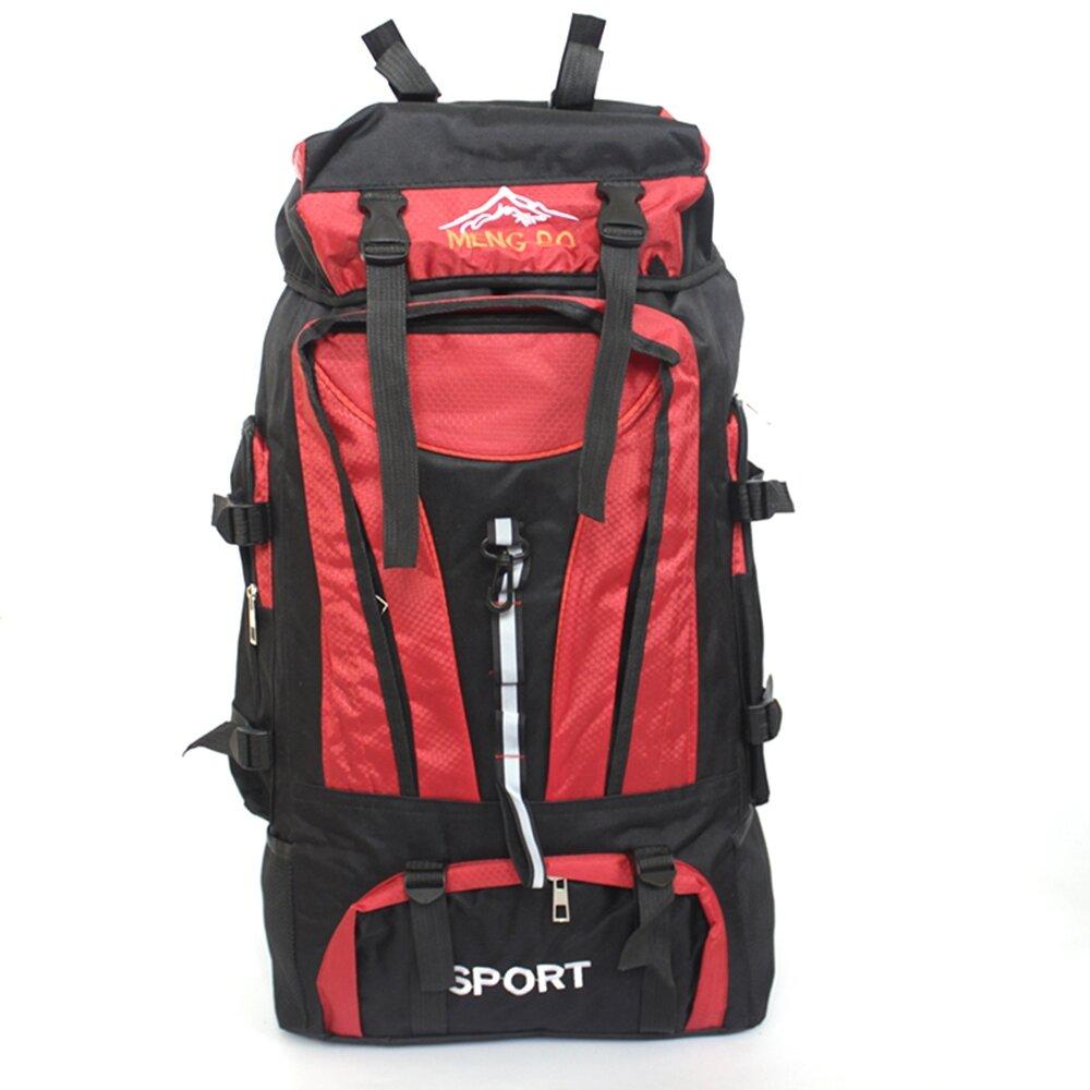 大容量70L雙肩背包登山包旅行包紅色 MY1026RD