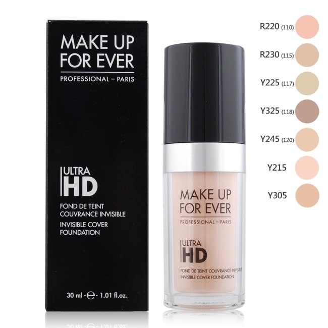 MAKE UP FOR EVER ULTRA HD超進化無瑕粉底液(30ml)#Y305