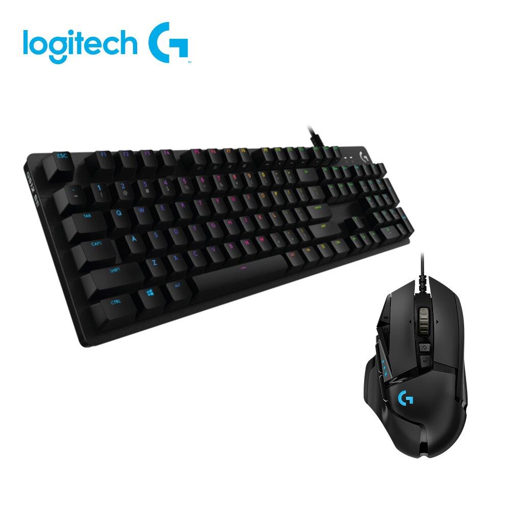 (組合)★快速到貨★羅技 Logitech G512 機械式電競鍵盤(GX觸感軸)+G502 HERO電競滑鼠
