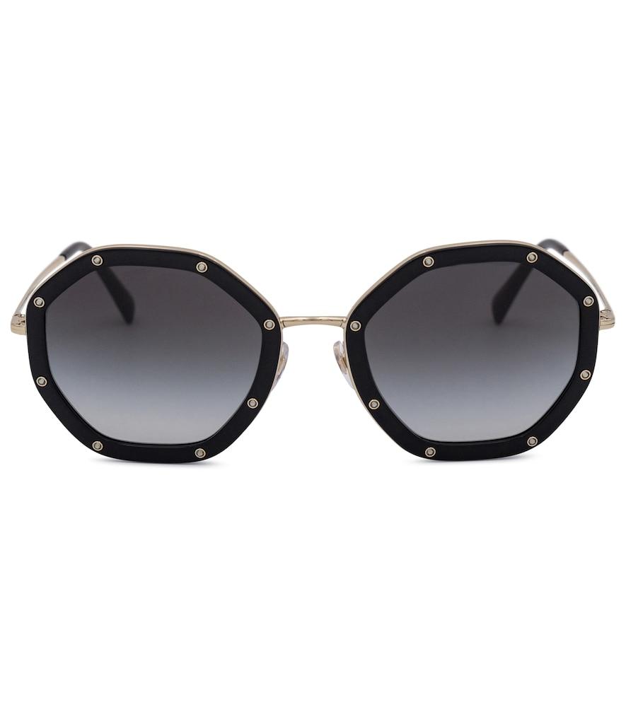 Valentino octagonal sunglasses