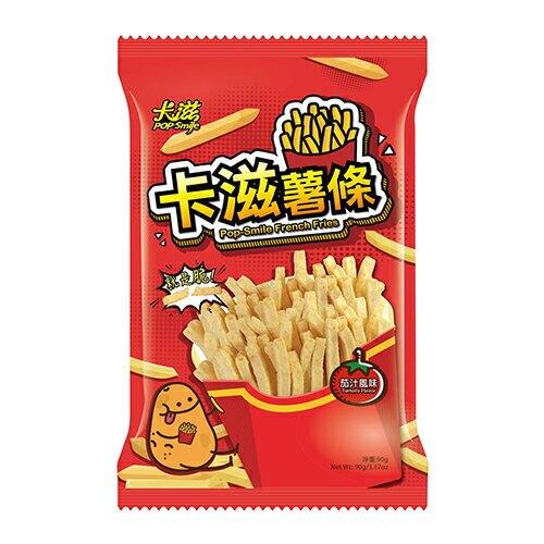 卡滋鮮脆薯條-茄汁風味90G【愛買】