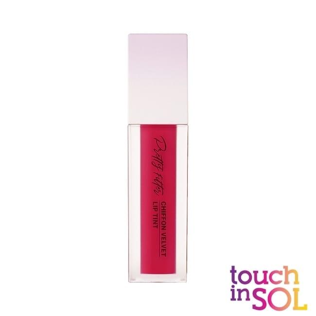 Touch in SOL光之瀅 美顏濾鏡雪紡絲絨唇釉5.5g 漿果粉