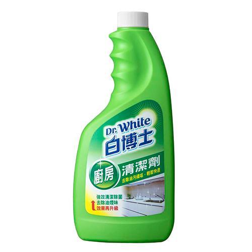 白博士廚房清潔劑重裝瓶600g【愛買】