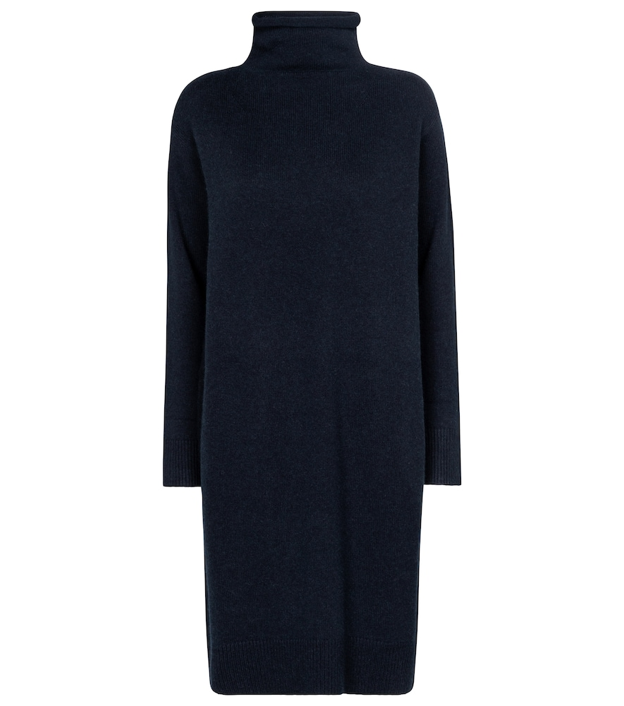 Adelfi wool and cashmere midi dress