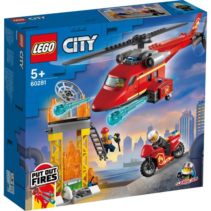 樂高積木Lego 60281 消防救援直升機 玩具反斗城