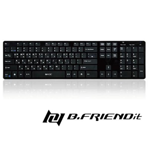 b.friendkb1430 有線鍵盤 黑