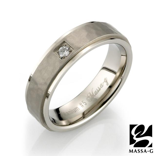 MASSA-G DECO系列 Double Ring【Promise】 鈦金女戒