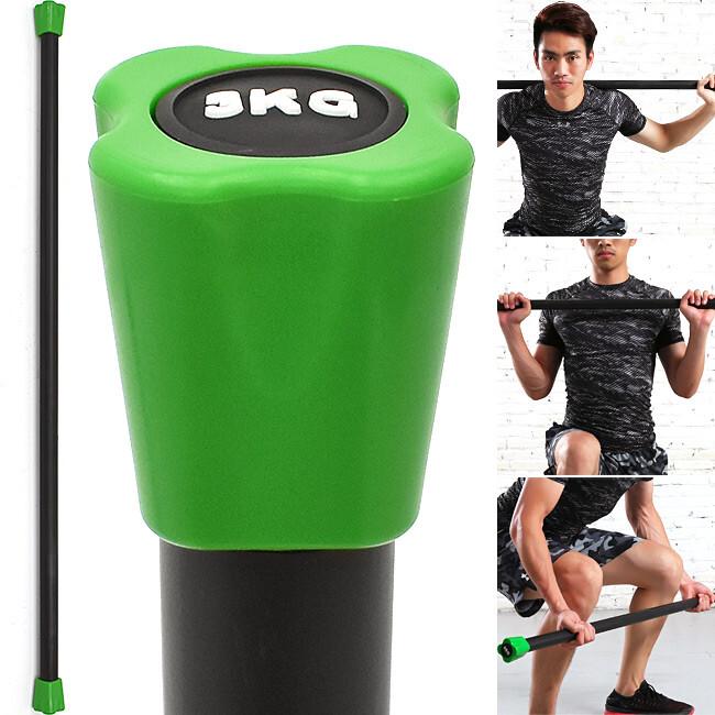 body bar有氧健身3kg體操棒 (長桿120cm跳操平衡棒/重量棒形體棒) c113-5603