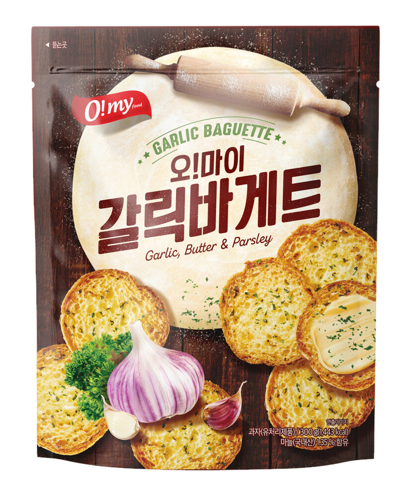 o!my歐邁福大蒜麵包餅乾 2入396