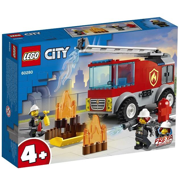 LEGO 60280 城鎮系列 雲梯消防車【必買站】樂高盒組