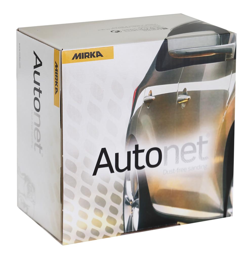 mirka autonet 125mm玻纖網磨砂紙-盒裝