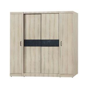 【MUNA 家居】亞倫6.6X7尺推門衣櫥/衣櫃