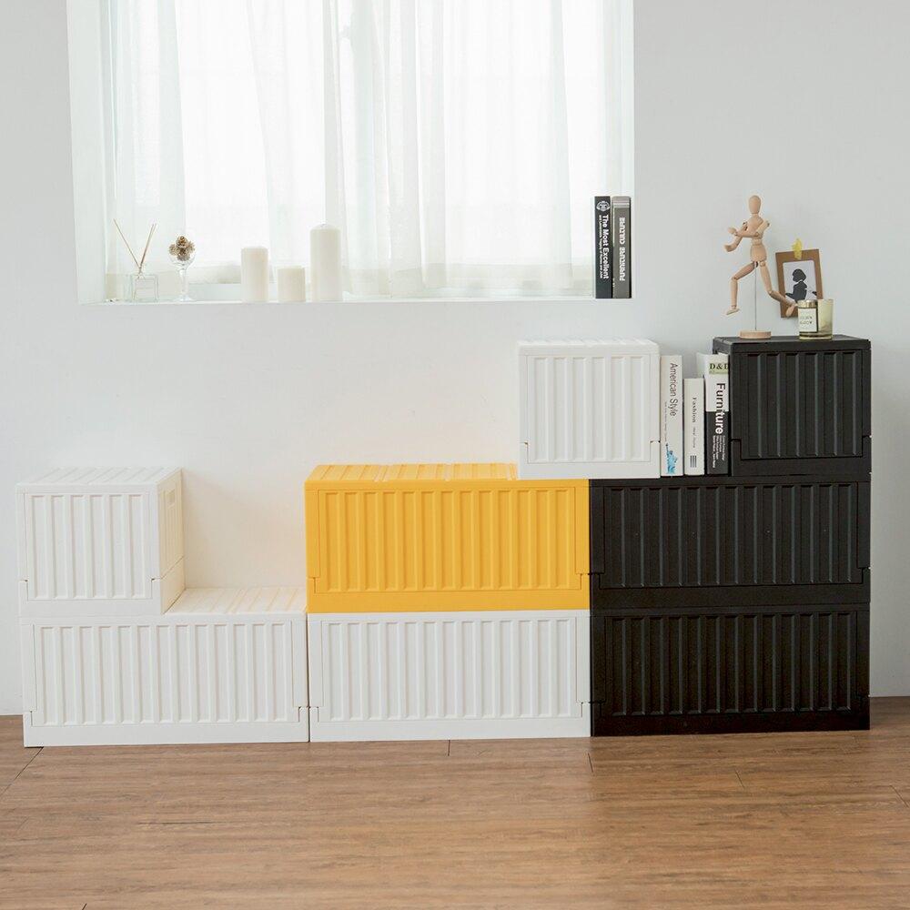 樹德/可堆疊/玩具箱/收納箱 FB-6432貨櫃收納椅 (五入組) MIT台灣製 完美主義 【R0134-B】 樹德推薦