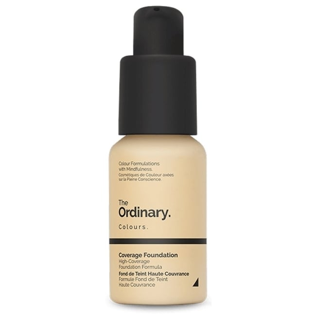 The Ordinary coverage foundation 防曬遮瑕型粉底液2.0N(30ml)