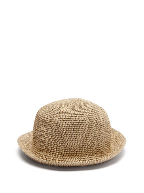 Reinhard Plank Hats - Genia Woven Cotton Hat - Womens - Beige