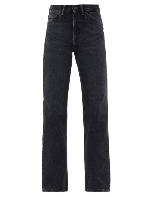 Acne Studios - 1977 High-rise Bootcut Jeans - Womens - Black