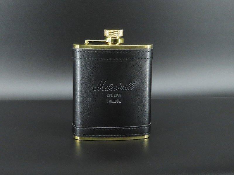 Marshall 不銹鋼酒瓶 黑金色