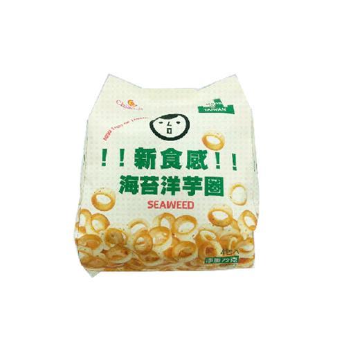 巧益海苔洋蔥圈72G【愛買】