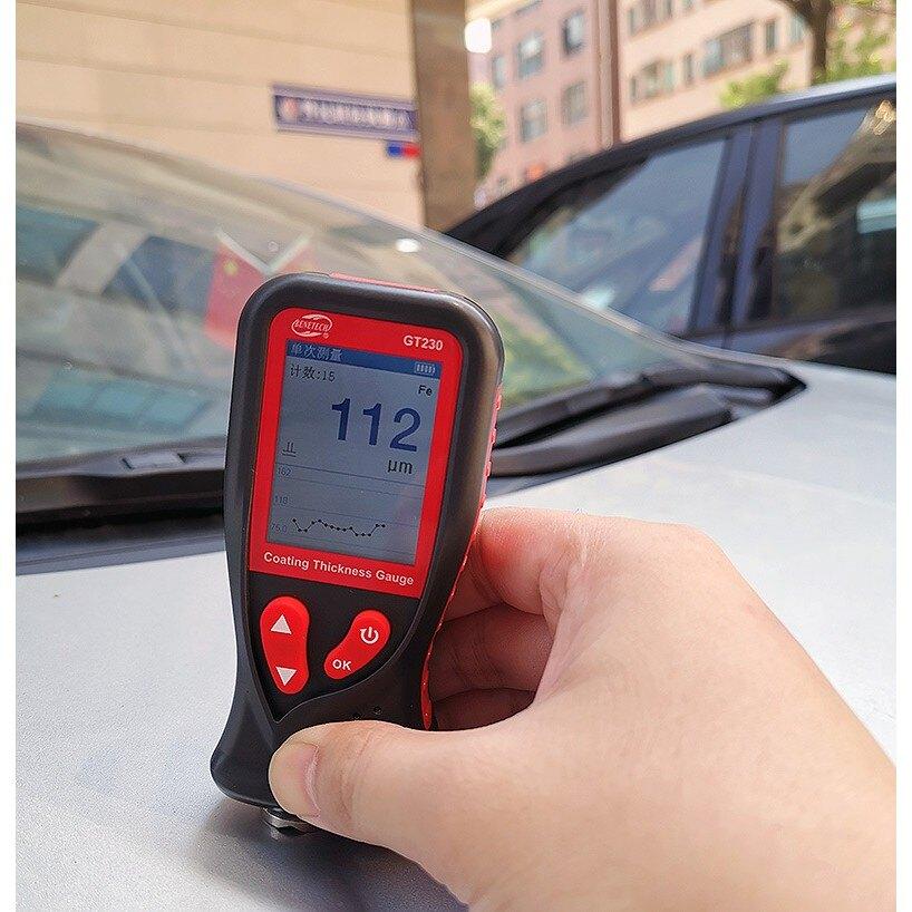 標智GT230涂層測厚儀 漆膜儀膜厚儀汽車漆面檢測儀油漆厚度測試儀