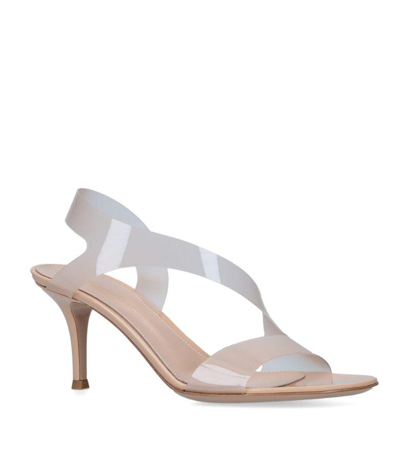Gianvito Rossi Plexi Metropolis Sandals 70