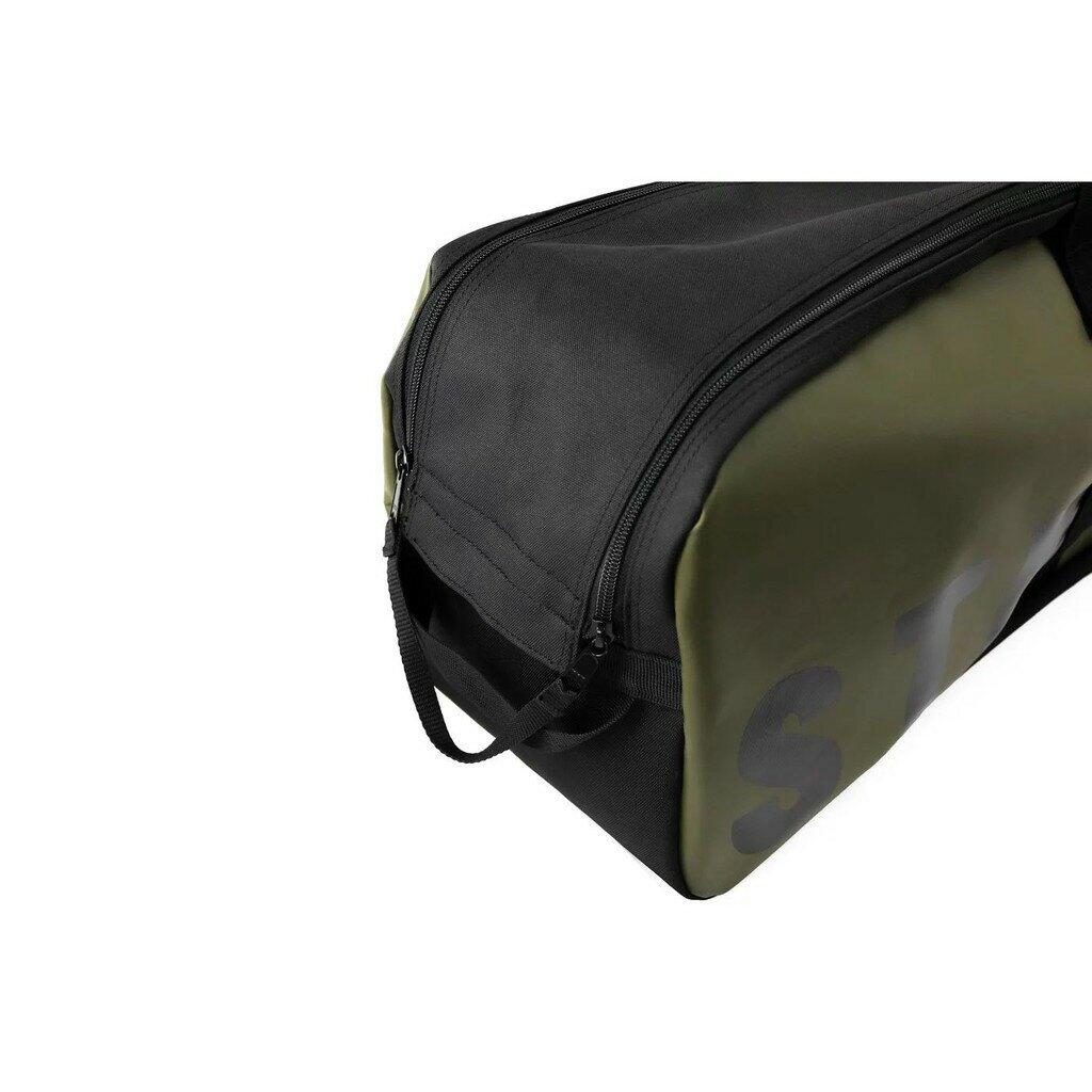 日本《Stream Trail》 新防水蛙鞋袋(長) - 氣瓶蛙 / 陸軍綠