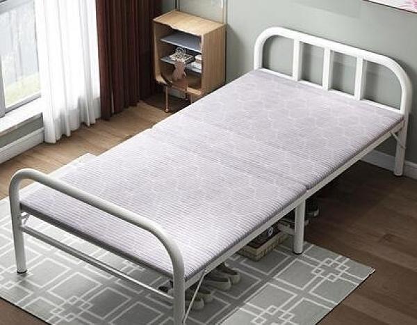 多功能床 木舟坊折疊床家用單人床成人午休床簡易便攜辦公室午睡雙人木板床 DF 艾維朵
