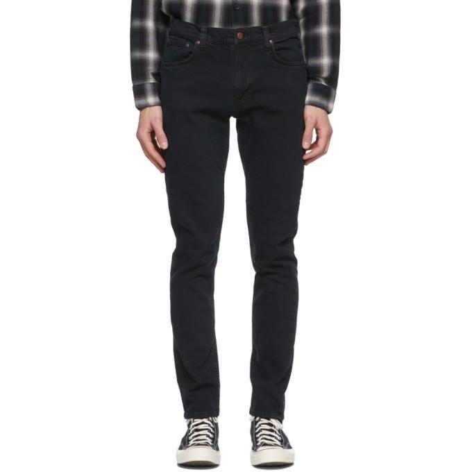 Nudie Jeans 黑色 Lean Dean 牛仔裤