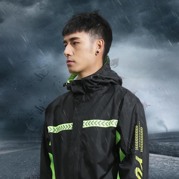 雨衣 雨衣雨褲套裝男女防水分體摩托車電瓶車成人騎行防暴雨全身防護 星河光年
