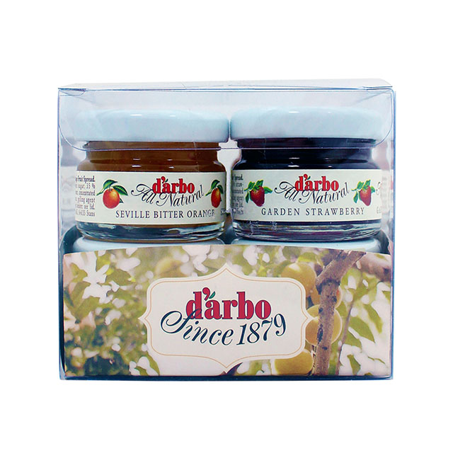 [現貨] D'arbo28g蜂蜜/果醬 8入  禮盒組