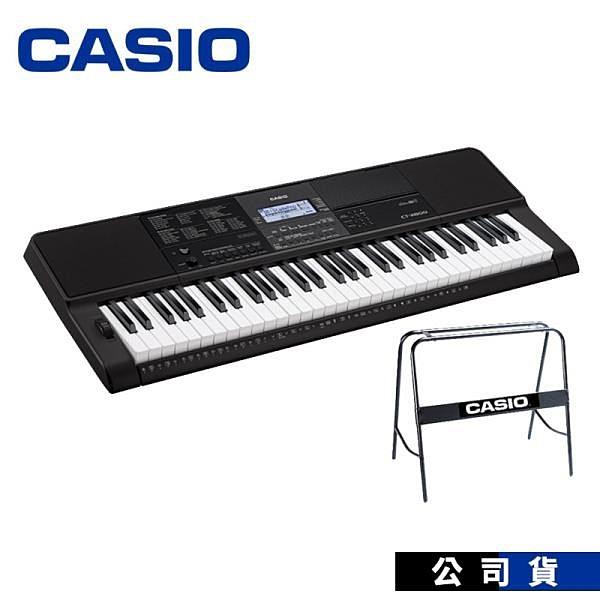 【南紡購物中心】卡西歐電子琴 CASIO CTX800 61鍵 (含原廠琴架)