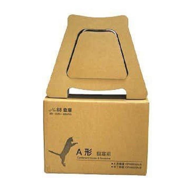 國際貓家 88號倉庫 A型貓抓組-箱購