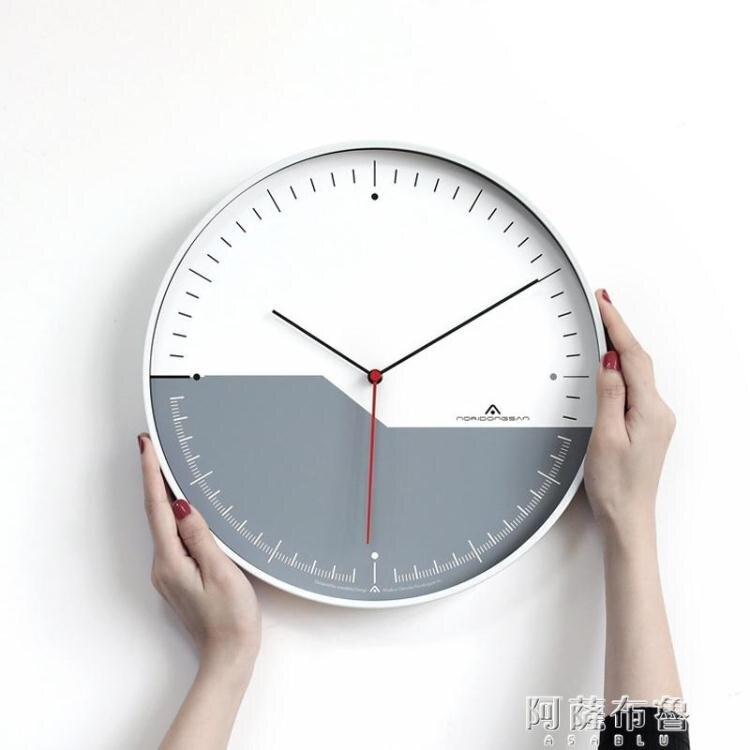 新年鉅惠85折~掛鐘 Aniok 輕奢客廳掛鐘家用臥室超靜音鐘錶個性創意藝術掛錶裝飾時鐘-閃靚小鋪