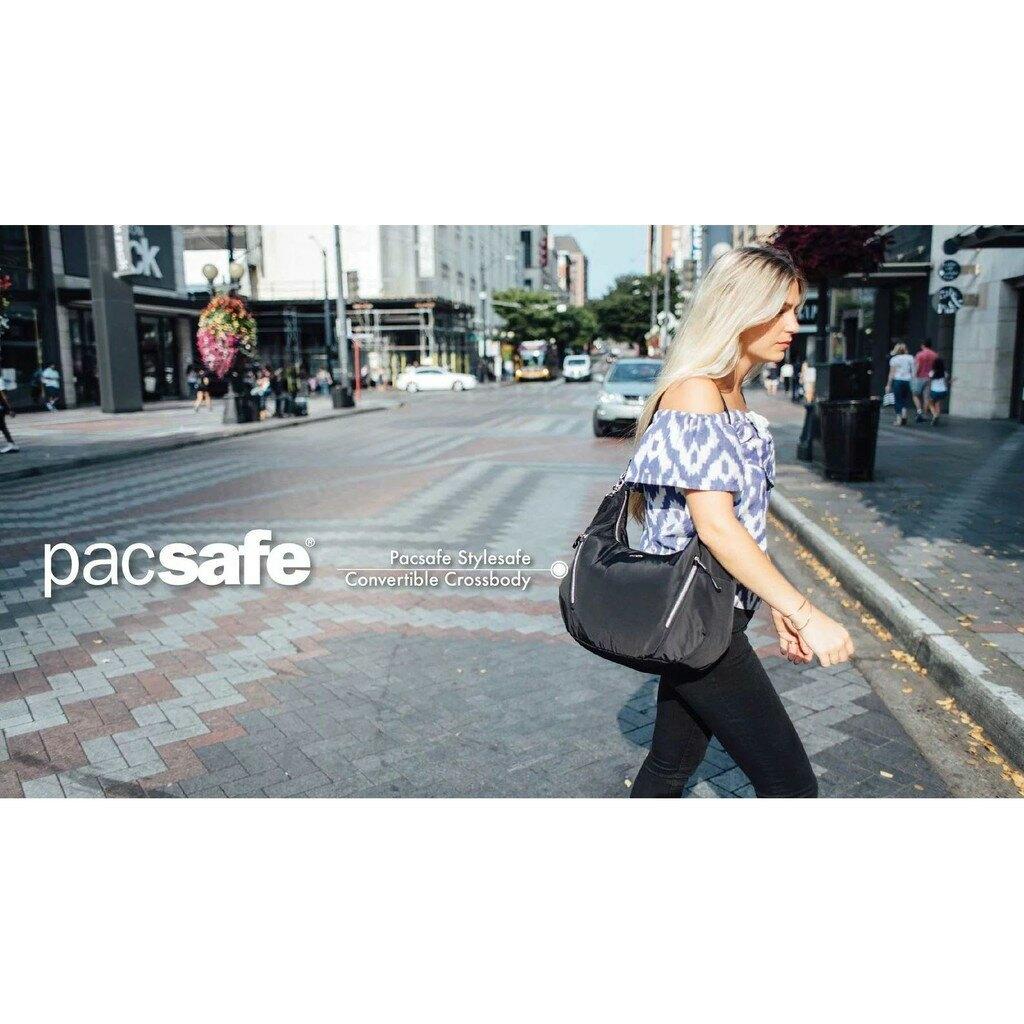 澳洲《Pacsafe》Stylesafe | 時尚防盜肩背包 (10L)海軍藍