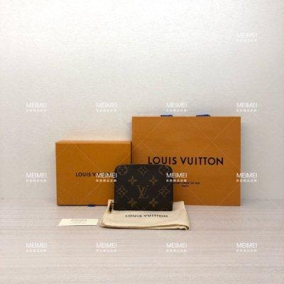 30年老店 現貨 LOUIS VUITTON ZIPPY COIN PURSE M60067 拉鍊 零錢包 卡片夾 LV