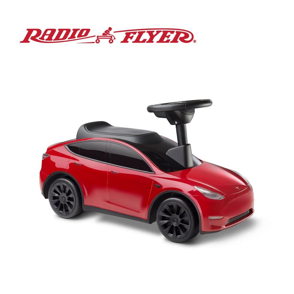 RadioFlyer Tesla Model Y 特斯拉聯名款滑步車_633A型 兒童 騎乘玩具 滑步車 學步車