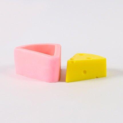 蠟燭模具 香薰蠟燭diy材料創意DIY迷你奶酪大奶酪手工製作仿真模具【全館免運 限時鉅惠】