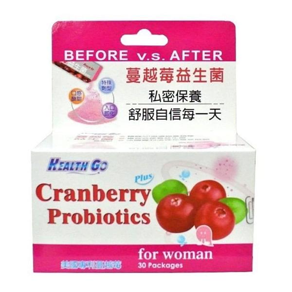 生達 蔓越莓益生菌健康粉 30包/盒◆德瑞健康家◆