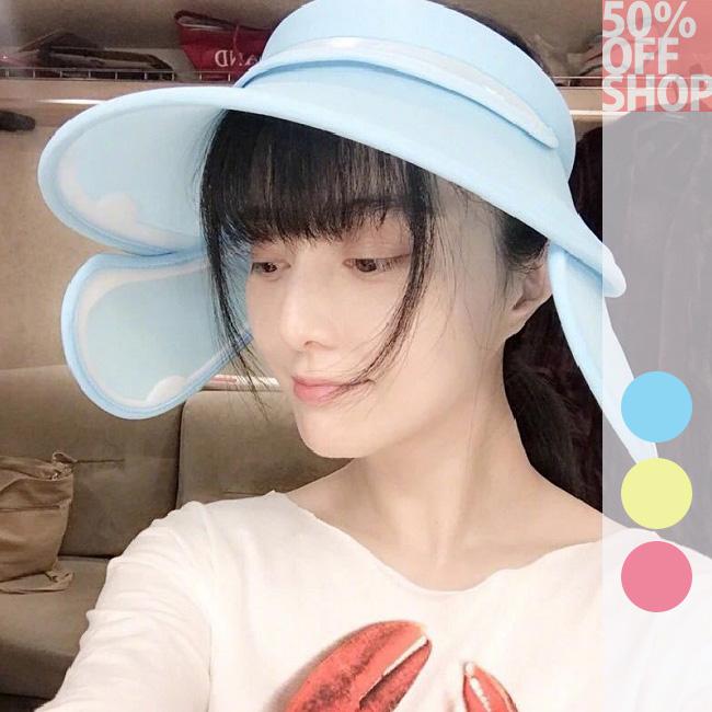 50%OFF SHOP範冰冰同款貓咪口罩防曬防紫外線遮陽帽【E036967SWH】