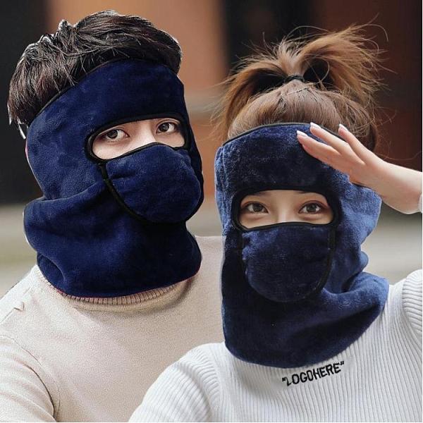 面罩 韓版口造罩女冬季保暖防寒冬天騎行護頸加厚大純棉透氣防風易呼吸 維多原創