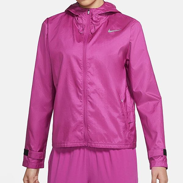 Nike Essential 女款 粉紫 運動 風衣 連帽 運動 外套 CU3218-564