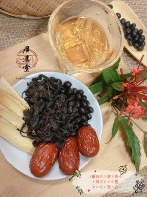 黑豆杜仲茶(5包/組) 紅棗片 台灣自產製作 養生保健茶 免過濾沖泡包 坐月子 更年期 老年 成長期