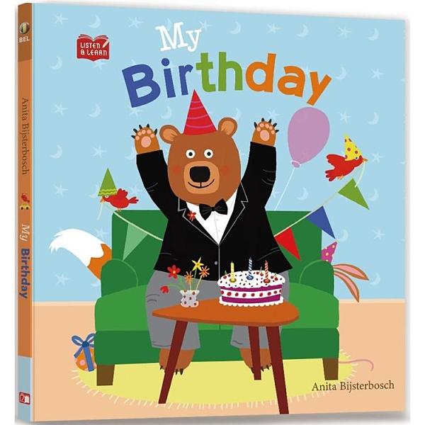 My Birthday(Listen & Learn Series附美籍教師朗讀