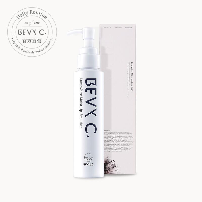 bevy c. 光透幻白妝前保濕修護乳 100ml(透亮水凝乳)官方直營