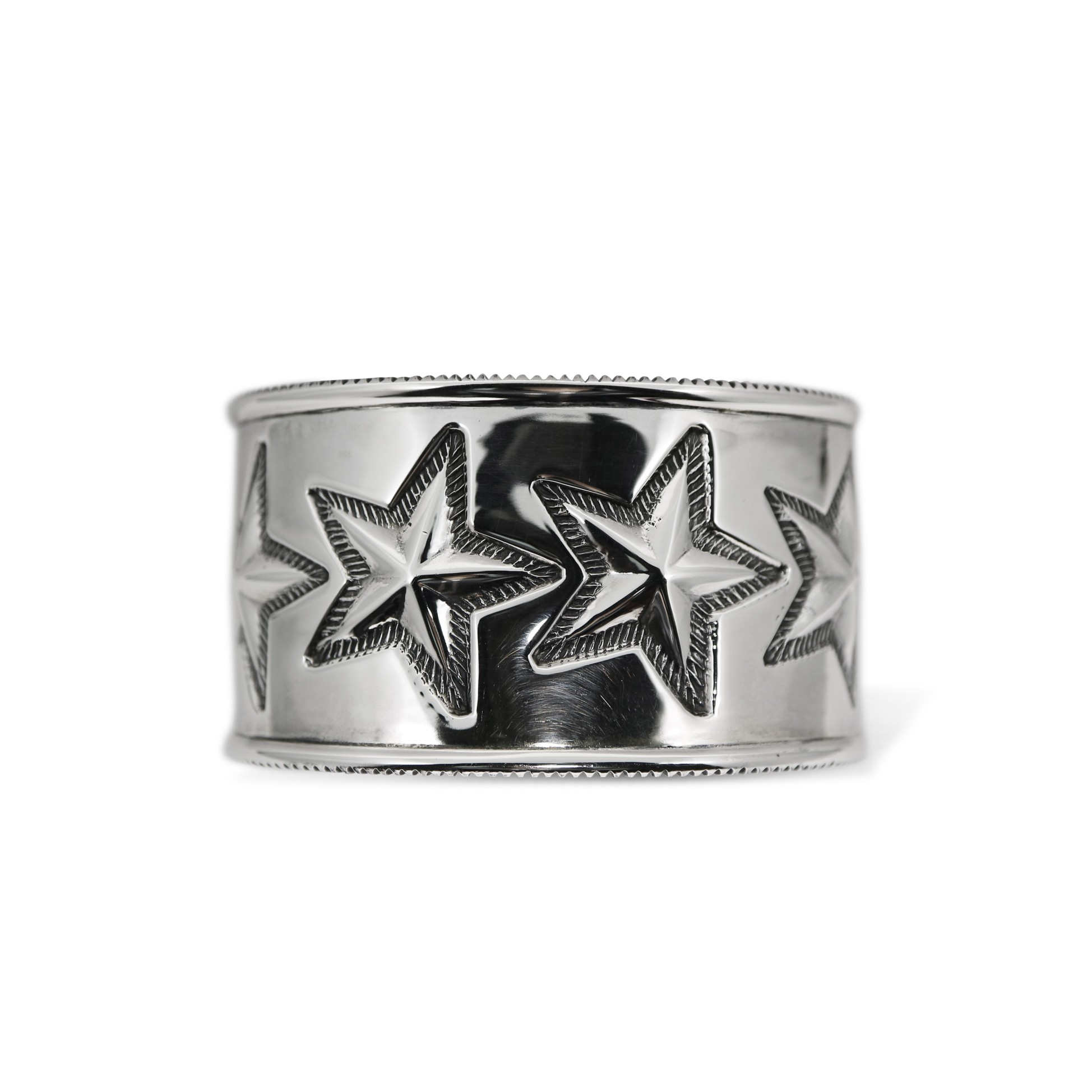 6 STAR COIN EDGE CUFF [USD $4100]