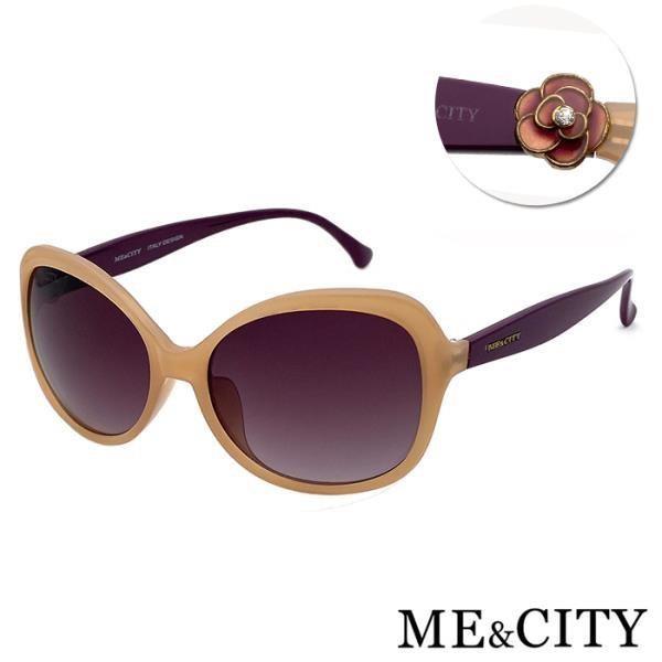 【SUNS】ME&CITY 義式典雅簡約太陽眼鏡 抗UV400 (ME 1208 J09)