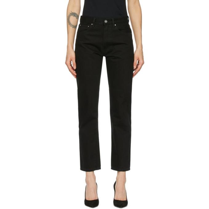Toteme 黑色 Original 牛仔裤