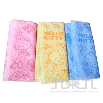 Hello Kitty 沐浴巾 (顏色隨機出貨)