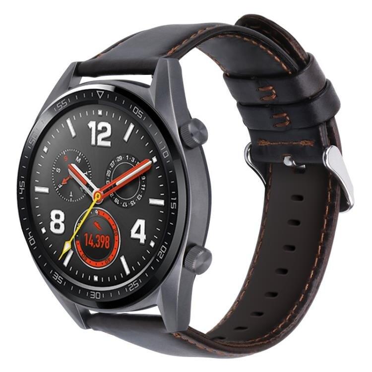 錶帶 適用華為手錶gt錶帶華為gt2錶帶真皮watch2pro榮耀手錶 走心小賣場